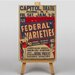 Big Box Art Federal Varieties Vintage Advertisement on Canvas