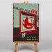 Big Box Art World's Fair No.2 Vintage Advertisement on Canvas