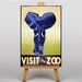 Big Box Art Visit the Zoo No.3 Graphic Art on Canvas