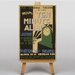 Big Box Art Ten Minute Alibi Vintage Advertisement on Canvas