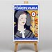 Big Box Art Pennsylvania Vintage Advertisement on Canvas