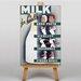 Big Box Art Milk Vintage Advertisement on Canvas