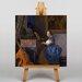 Big Box Art Playing an Instrument by Johannes Vermeer Art Print on Canvas