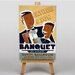 Big Box Art Father and Son Banquet Vintage Advertisement on Canvas