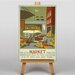 Big Box Art Market Vintage Advertisement on Canvas