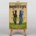 Big Box Art Brothers No.2 Vintage Advertisement on Canvas