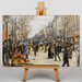 Big Box Art On the Grand Boulevard by Jean-Francois Raffaelli Art Print on Canvas