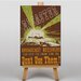 Big Box Art Disaster Vintage Advertisement on Canvas