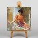 Big Box Art Godward Summer Flowers by John William Godward Art Print on Canvas