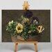 Big Box Art Still Life with Pansies No.2 by Henri Fantin-Latour Art Print on Canvas