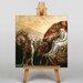Big Box Art God Judging Adam by William Blake Art Print on Canvas