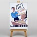 Big Box Art Art Classes No.2  Vintage Advertisement on Canvas