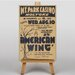 Big Box Art American Wing Vintage Advertisement on Canvas