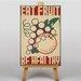 Big Box Art Eat Fruit Vintage Advertisement on Canvas