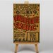Big Box Art Vaudeville Frolic Vintage Advertisement on Canvas