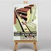 Big Box Art Low Rent Homes Vintage Advertisement on Canvas