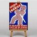 Big Box Art Unfair to Babies Vintage Advertisement on Canvas