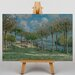 Big Box Art View of Marly from Coeur-Volant by Alfred Sisley Art Print on Canvas