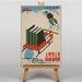 Big Box Art Ahead Vintage Advertisement on Canvas