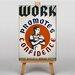 Big Box Art Work Promotes Confidence Vintage Advertisement on Canvas