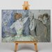 Big Box Art In the Wings by Jean-Louis Forain Art Print on Canvas