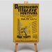 Big Box Art American Music Festival Vintage Advertisement on Canvas