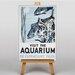 Big Box Art Visit the Aquarium Vintage Advertisement on Canvas