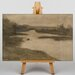 Big Box Art Paysage Avec Riviere by Eugene Carriere Art Print on Canvas