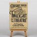 Big Box Art Twilight of the Theatre Vintage Advertisement on Canvas