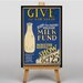Big Box Art Milk Fund Vintage Advertisement on Canvas