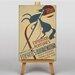 Big Box Art Exposition Vintage Advertisement on Canvas