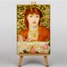 Big Box Art Alice Wilding by Dante Gabriel Rossetti Art Print on Canvas