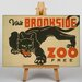 Big Box Art Brookfield Zoo No.4 Vintage Advertisement on Canvas