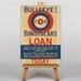 Big Box Art Bullseye for Binoculars Vintage Advertisement on Canvas