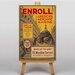 Big Box Art Enrol Vintage Advertisement on Canvas