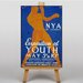 Big Box Art Exposition of Youth Vintage Advertisement on Canvas