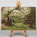 Big Box Art Landscape No.7 by Alfred Sisley Art Print on Canvas