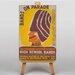 Big Box Art Bands on Parade Vintage Advertisement on Canvas