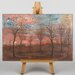 Big Box Art Trees by Egon Schiele Art Print on Canvas