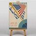 Big Box Art Flag Day Vintage Advertisement on Canvas