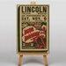 Big Box Art Dixie to Broadway Vintage Advertisement on Canvas
