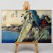 Big Box Art Japanese Oriental by Utagawa Hiroshige Art Print on Canvas