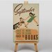 Big Box Art Back to Books No.2 Vintage Advertisement on Canvas