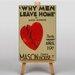 Big Box Art Why Men Leave Home No.2 Vintage Advertisement on Canvas