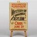 Big Box Art Mystery of Broadwalk Vintage Advertisement on Canvas