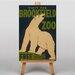 Big Box Art Brookfield Zoo No.1 Vintage Advertisement on Canvas