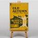 Big Box Art Old Autumn Vintage Advertisement on Canvas
