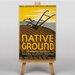 Big Box Art Native Ground Vintage Advertisement on Canvas