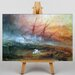 Big Box Art Slave Ship by Joseph Mallord William Turner Art Print on Canvas
