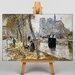 Big Box Art Notre Dame by Jean-Francois Raffaelli Art Print on Canvas